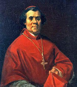 Monseigneur Gousset - huile sur toile - collection Académie