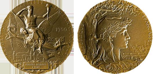Médaille Exposition 1900