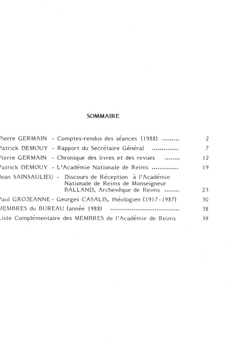 annales sommaire 5