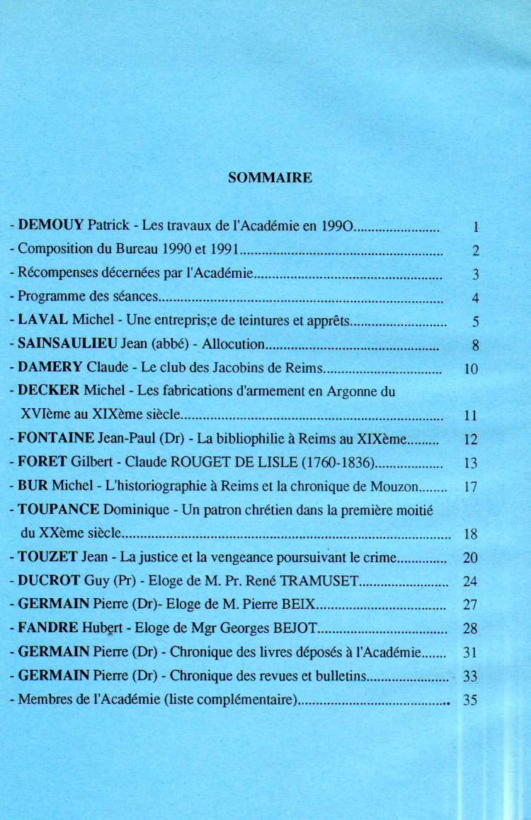 annales sommaire 7