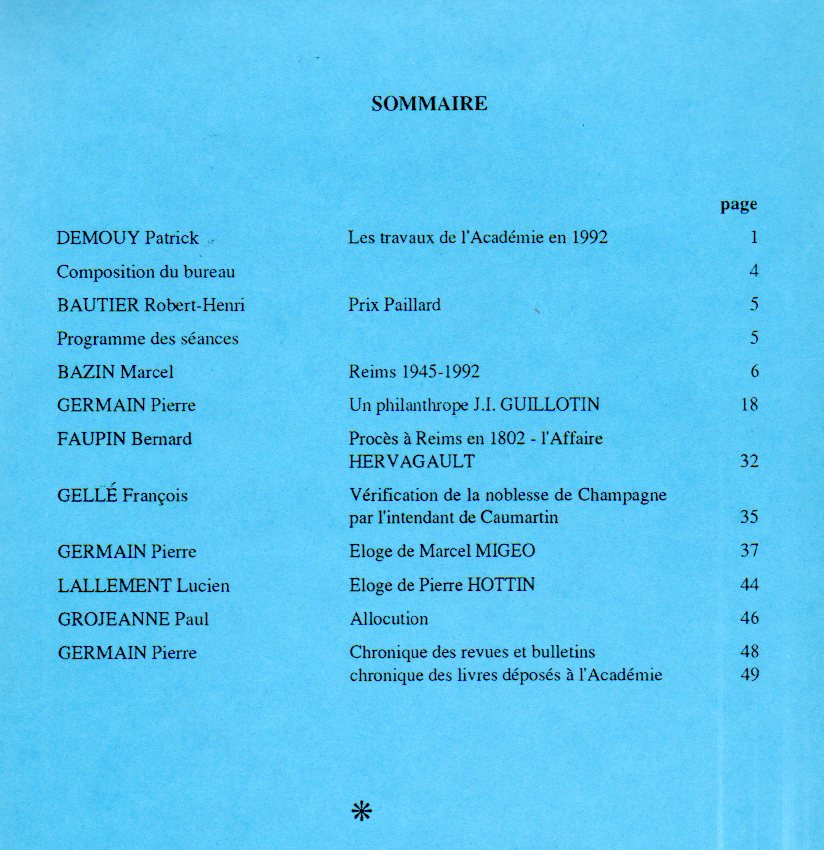 annales sommaire 8
