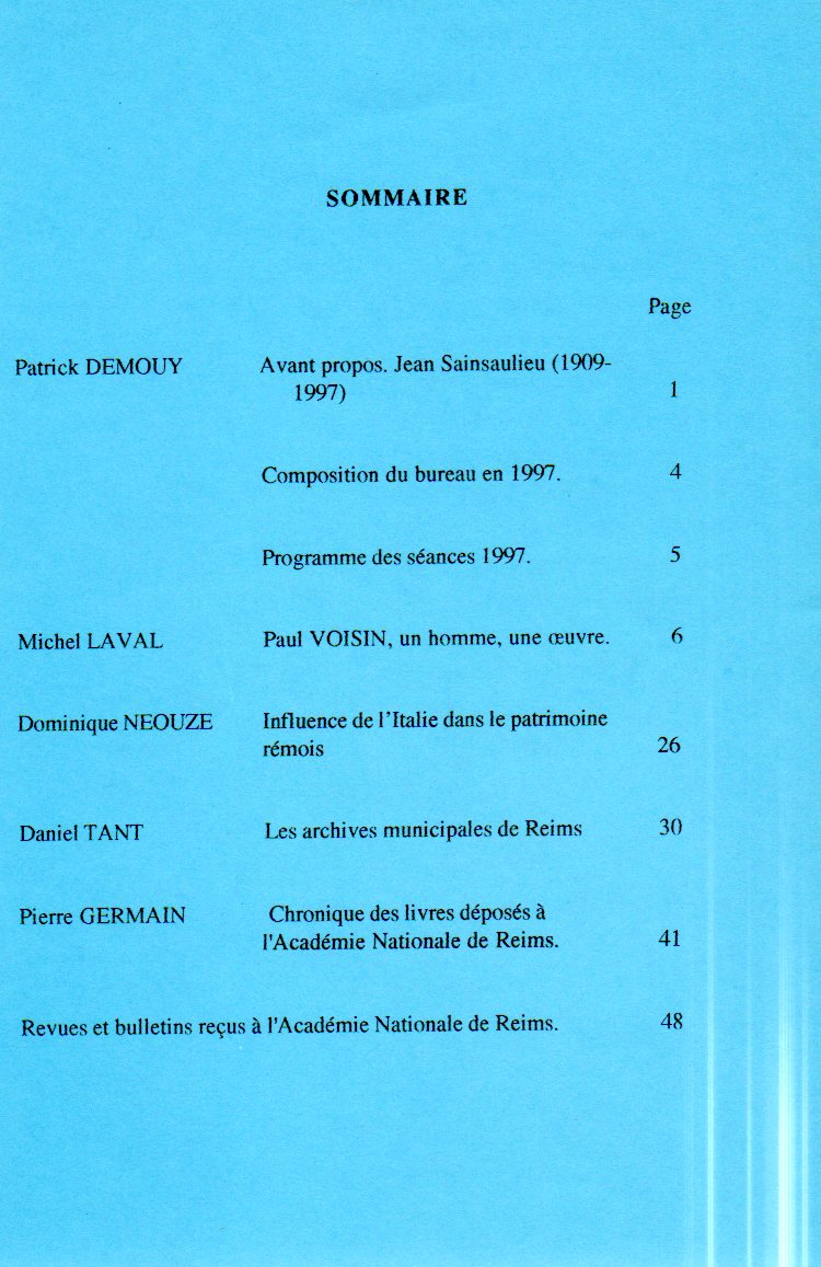 annales sommaire 12